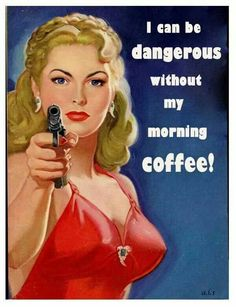 I'm only kidding, a little. ;) #coffeehumor