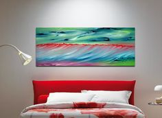 FINEARTSEEN - View The sense of time by Davide De Palma. A beautiful original seascape painting reflecting the colours of the sea. Find the perfect artwork for your home or space. An original artwork available on FineArtSeen l The Home Of Original Art. Enjoy FREE DELIVERY on every order. Art for art lovers, interior designers and project managers. >