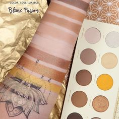 Zoeva new Blanc Fusion palette