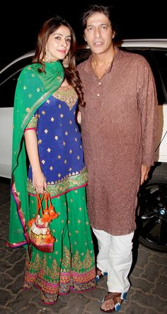 Photos: Salman, Ranbir, Katrina, other celebs at Anil Kapoor's Diwali bash Pakistani Bridal Dresses, Pakistani Outfits, Indian Dresses, Indian Outfits, Indian Attire, Indian Wear, Garara Suit, Mehndi Outfit, Indian Designer Suits