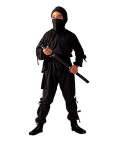 Love this Black Immortal Ninja Dress-Up Set - Kids by RG Costumes on #  sc 1 st  Pinterest & Sew this easy ninja costume for kids with Simplicity Pattern 1037 ...