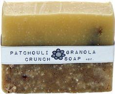 Natural Patchouli Granola Crunch Soap Recipe @Christina &'s Soap Delicatessen