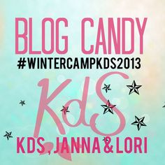 Blog candy winter camp