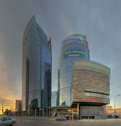 """Vilnius """"Business port"""" (Lithuania). Project author- Leonidas Merkinas"""