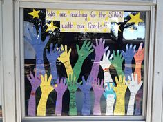 We are reaching for the stars with our GOALS! A fun visual aid to help the kiddos make short and long term goals.