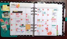 October Monthly - Simple Stories Carpe Diem Planner