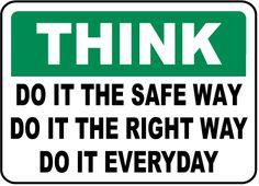 Just do it! #SafetyFirst