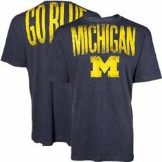NCAA Michigan Wolverines Navy Highway T-shirt by Football Fanatics. $19.95. Michigan Wolverines Navy Highway T-shirt85% Cotton/15% PolyesterLoose-fit cut for comfortImportedOfficially licensed collegiate productLightweight ribbed T-shirtScreen print graphicsRib-knit collarLightweight ribbed T-shirtRib-knit collarScreen print graphicsLoose-fit cut for comfortImported85% Cotton/15% PolyesterOfficially licensed collegiate product