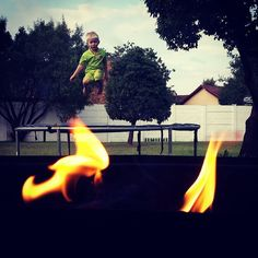 """""""#BoysNight"""" #Fire #Flames"""