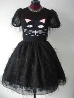 Exclusive Pussycat Dolly Lolita Party Dress by Loliposh on Etsy, $175.00