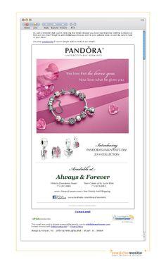 Brand: Pandora | Subject: PANDORA, The Perfect Valentine's Day Gift