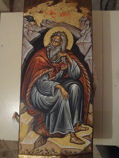 My Art Studio, Orthodox Icons, Saints, My Arts, Painting, Byzantine Art, Painting Art, Paintings, Drawings