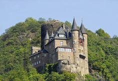 Germany Castle on the Rhine River