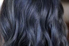 Blue Grey Hair Color will increase in popularity in 2017  Best Hair Color Salon in Dallas, Hair Color Plano, Hair Color Addison,Hair Color Farmers Branch, Hair Color Carrollton, Valley Ranch, Irving, Best Ombre, Highlights, Hair Color, Balayage, Foilayage, Color Melt, Best Hair Colorist, Best Hair Color, 2017 Hair Color Trends, Grey Hair, Blue Hair