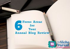 As you look ahead to the New Year, it's the perfect time to give yourself and annual blog review. Here are six areas to start including: traffic, followers...