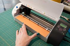 Fabric Is Bliss: Tip for Loading Vinyl Into the Silhouette Cutter