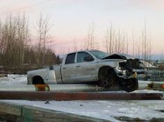 Alaska man steals forklift and drives it for 3 miles to his truck he just smashed. The man gets a DUI and faces charges for stealing the forklift. This is his third DUI and he is just 21.