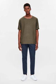 COS | Silk t-shirt