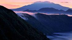 Sea Mountains Fog