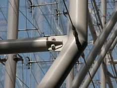 SSEF - Fun is in the Details - Hinge and Pin Connections Steel Trusses, Roof Trusses, Types Of Bolts, Steel Erectors, Public Library Design, Steel Detail, Concrete Stairs, Glass Facades, Glass