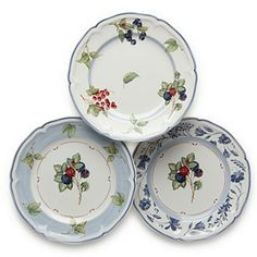 "Villeroy & Boch ""Cottage"" Assorted Salad Plates 