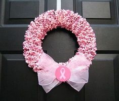 Breast Cancer Fundraising Ideas That Really Work Tons of easy, fun, and successful breast cancer fundraising ideas that allow you to simplify your group's fundraiser planning and get down to the business of raising money for charity. Breast Cancer Wreath, Breast Cancer Crafts, Breast Cancer Fundraiser, Breast Cancer Survivor, Breast Cancer Awareness, Pink Wreath, Breast Cancer Support, Awareness Ribbons, Craft Fairs