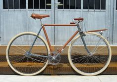 This beautiful bike is not only handmade from rare and vintage parts,…