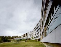 Gallery of 216 Social Dwellings for students and professors in Cerdanyola del Vallés / Bru Lacomba Setoain - 1 University Housing, Social Housing, Commercial Architecture, Facade, Spain, Exterior, Gallery, Building, Modernism