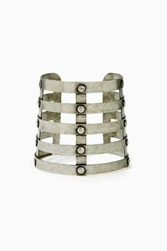 Caged In Cuff bracelet.  women's fashion and accessories.  jewelry. style.