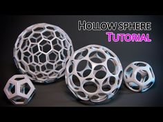 Tutorial - Quickly Create a hollow sphere in 3ds Max - YouTube
