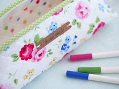 pencil case - Pretty by Hand