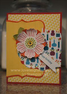 Stampin' Up! Summer Smooches Card