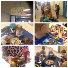 Couldn't wait for next week to open Lego Lab. A busy spot full of planning, collaboration & rich oral language.