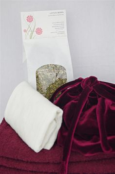 Lotus Birth placenta bags and more on Etsy