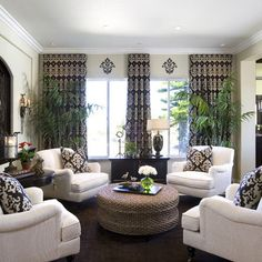 Four Chairs Design Pictures Remodel Decor And Ideas Home Living Room
