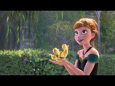 『アナと雪の女王』ミュージック・クリップ:♪For The First Time In Forever/アナ(神田沙也加) - YouTube