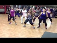 """La Maquina de Baile"" by Daddy Yankee, Choreo by Natalie Haskell for Dance Fitness - YouTube"