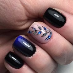 Having short nails is extremely practical. The problem is so many nail art and manicure designs that you'll find online Elegant Nail Designs, Elegant Nails, Nail Art Designs, Nails Design, Fabulous Nails, Gorgeous Nails, Pretty Nails, Fancy Nails, Love Nails