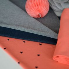 MINISTAR, Coral | NOSH Fabrics Spring & Summer 2016 Collection - Shop at en.nosh.fi | Kevään 2016 malliston kankaat saatavilla nyt nosh.fi