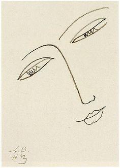 Henri Matisse - Volto di donna