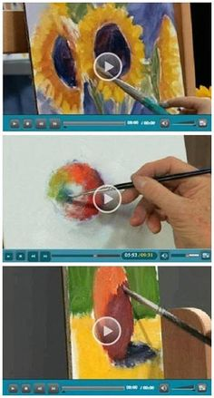 130+ Free DIY Oil Painting Videos - Jerry's Atrarama lets you enjoy more than 130 free oil painting how-to video demonstrations by some of the best known artists in the world. Beginner or advanced, you'll find helpful advice and techniques for your oil portraits, landscapes, seascapes and more. (Photo: Oil Painting video demonstrations by  Nicole Kennedy, Dick Ensing and Mike Rooney) Click through to learn while watching your favorite videos.