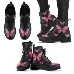 Tights And Boots, Sexy Boots, Butterfly Fashion, Creative Shoes, Save The Elephants, Aesthetic Shoes, Comfortable Boots, Vintage Gowns, Shoes