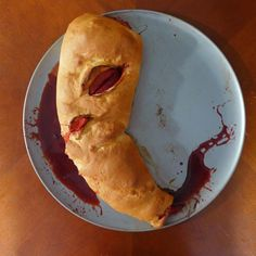 Prepare for your Walking Dead viewing party by recreating Merle Dixon's arm as a sangria soaked apple tart. Step by step recipe and instructions at KitchenOverlord.com