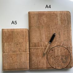 Cork Material, Cork Fabric, Table Covers, Recycled Materials, Sustainability, Recycling, Left Handed, A5, Portugal