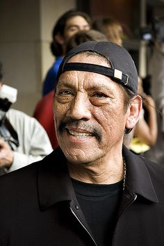 """Danny Trejo – Dan """"Danny"""" Trejo (Los Angeles, California, May is an American actor, who starred in many Hollywood films. His most notable roles are antagonistic characters or antiheroes. Some of his films are Grindhouse, Predators and Machete. Actors Male, Actors & Actresses, Famous Latinos, Danny Trejo, Film Books, Robin Williams, Hollywood Actor, Celebs, Actor"""