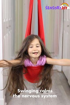Summer Activities For Kids, Games For Kids, Crafts For Kids, Fun Games, Sensory Activities, Toddler Activities, Sensory Swing, Sensory Play, Sensory Therapy