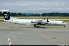 De Havilland Canada DHC-8-401Q Dash 8 aircraft picture.  Seattle / Tacoma - International (SEA / KSEA) USA - Washington, June 1, 2013