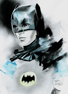 60s Batman by Shelton Bryant.