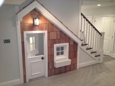 Stairwell Play House.  How cool is this??