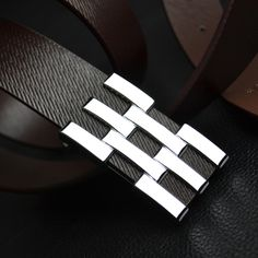 New Arrival Man Casual Fashion Genuine Leather Belt For Jeans Free Shipping